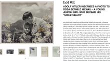La foto de Hitler con la niña judía que fue su amiga que vale 11.500 dólares