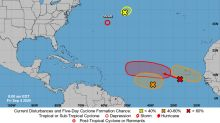NHC ups chances of development for two tropical waves in east Atlantic