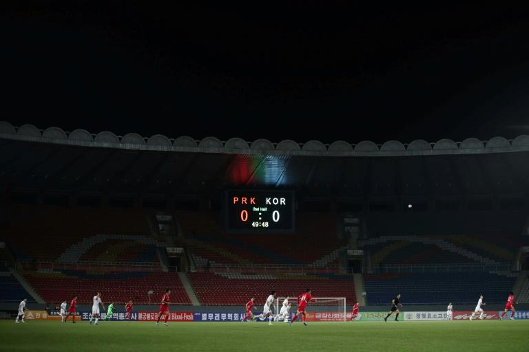 Surreal North v South Korea football match 'like war'