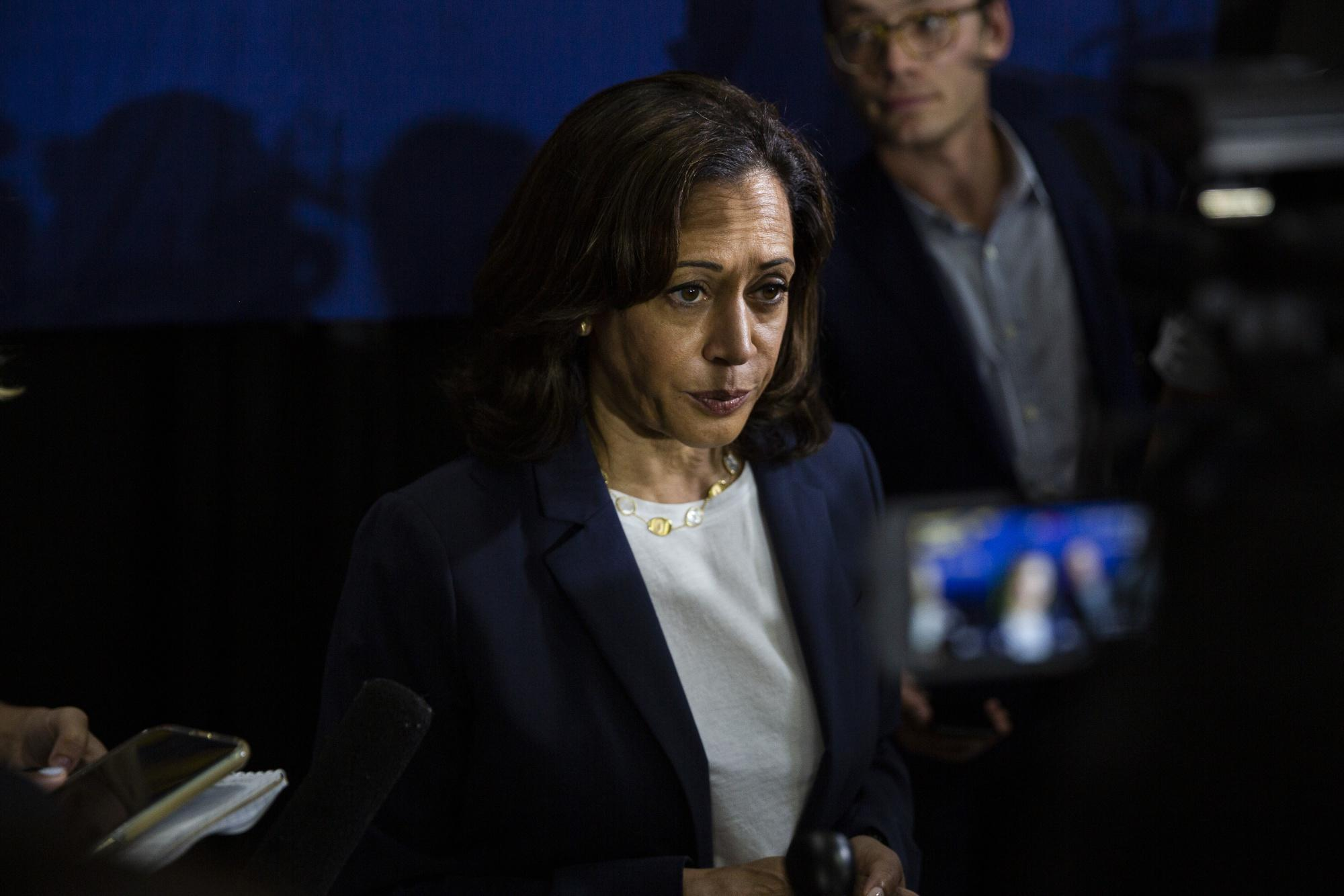 Kamala Harris: Trump 'Needs to Go Back to Where He Came From'