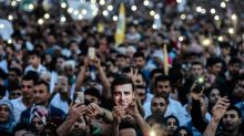 Jailed Kurdish presidential candidate appears on TV from jail
