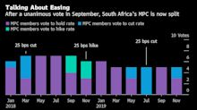 South Africa Holds Rate, May Ease in Second Half of 2020