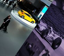 Detroit auto show models -- the human ones -- embrace new role