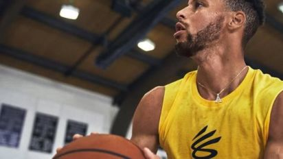 Basket - NBA - Stephen Curry lance sa marque en association avec Under Armour