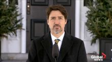 Coronavirus outbreak: Trudeau says U.S. putting troops near Canadian border would be a 'mistake'