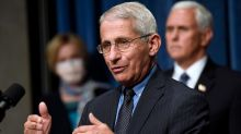 'I am in a risk category': Fauci explains why he won't be getting on a plane right now amid COVID-19