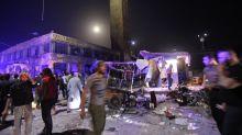Deadly strike hits Syria market as Damascus battles jihadists