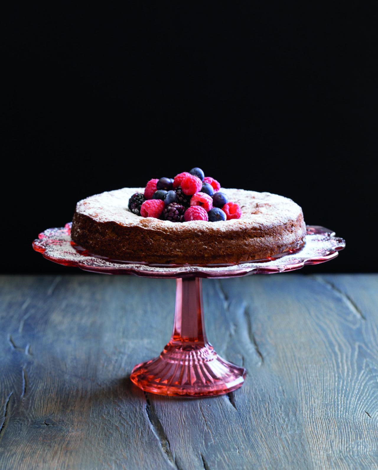 Gluten Free Lavender Yogurt Cake