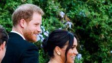 Duchess of Sussex wears £5 borrowed earrings to lavish Rome wedding
