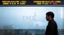 Materials sector helps lift Toronto stocks, U.S. markets mixed at late morning