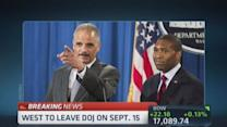 DOJ #3 Tony West leaving