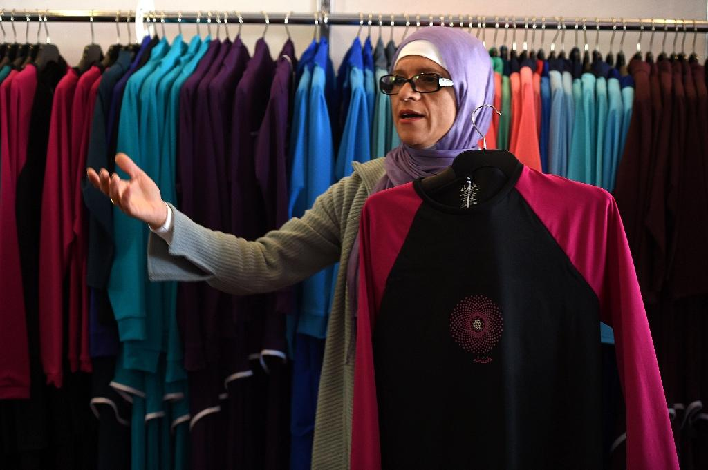 Australian-Lebanese designer Aheda Zanetti claims the trade mark on the name burkini after creating her first swimwear for Muslim women more than a decade ago (AFP Photo/Saeed Khan)