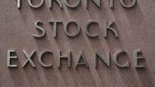 TSX grinds higher as banks lift, energy slides