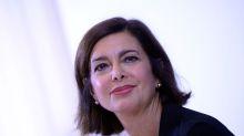 La gaffe di Laura Boldrini con i terremotati