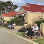 Retirement Village Residents Hold Social Distancing Street Party Amid COVID-19 Pandemic