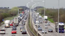 Speed limit on the M1 could be cut to 60mph to tackle pollution