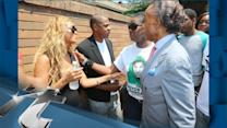 Social Issues Breaking News: Beyonce and JAY Z Attend Trayvon Martin Rally in NYC