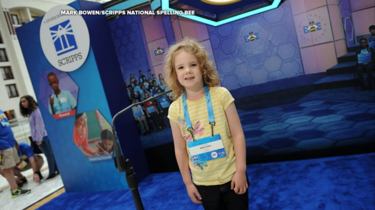 6-year-old is youngest competitor at the Scripps National ...