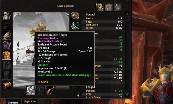 The Care and Feeding of Warriors: Leveling from 1 to 60 after Cataclysm