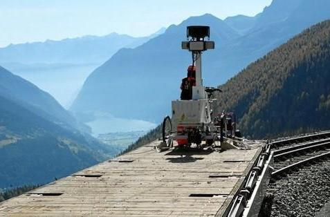 Google's Street View takes to the rails in Switzerland