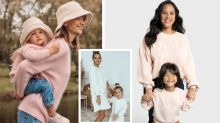 These matching mummy and me outfits are selling out fast