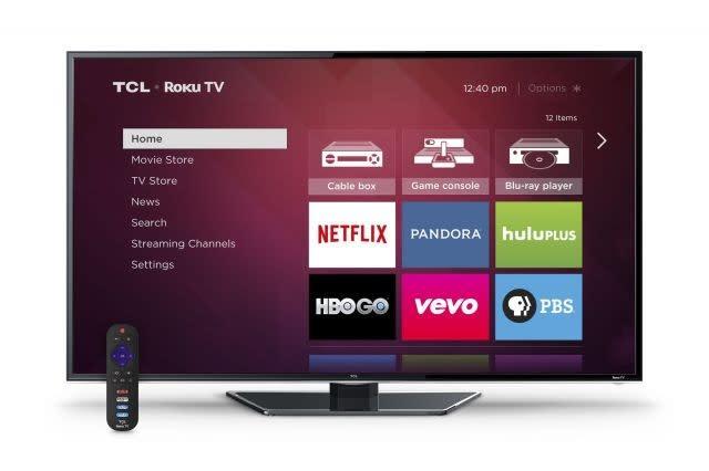 TCL 4K TVs to integrate Roku