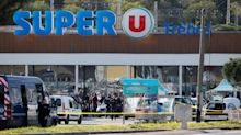 Gunman killed after deadly hostage-taking at a supermarket in Trèbes, France