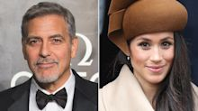 George Clooney Comes to Pregnant Meghan Markle's Defense, Comparing Her Plight to Princess Diana's