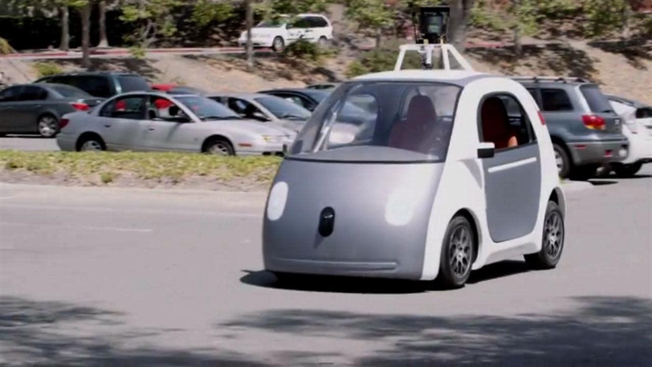 google construit des prototypes de voitures sans conducteur. Black Bedroom Furniture Sets. Home Design Ideas