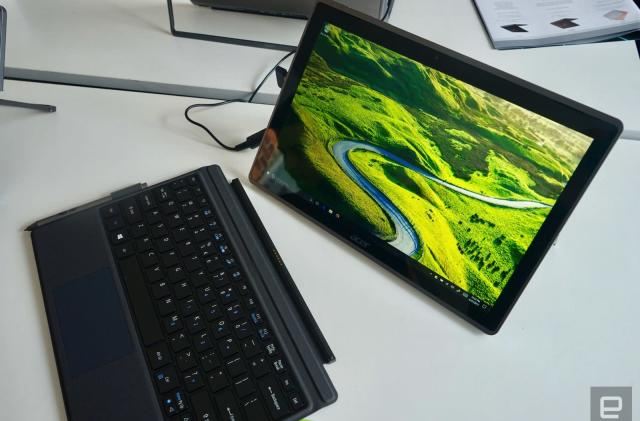 A kickstand is the most interesting feature on Acer's new 2-in-1