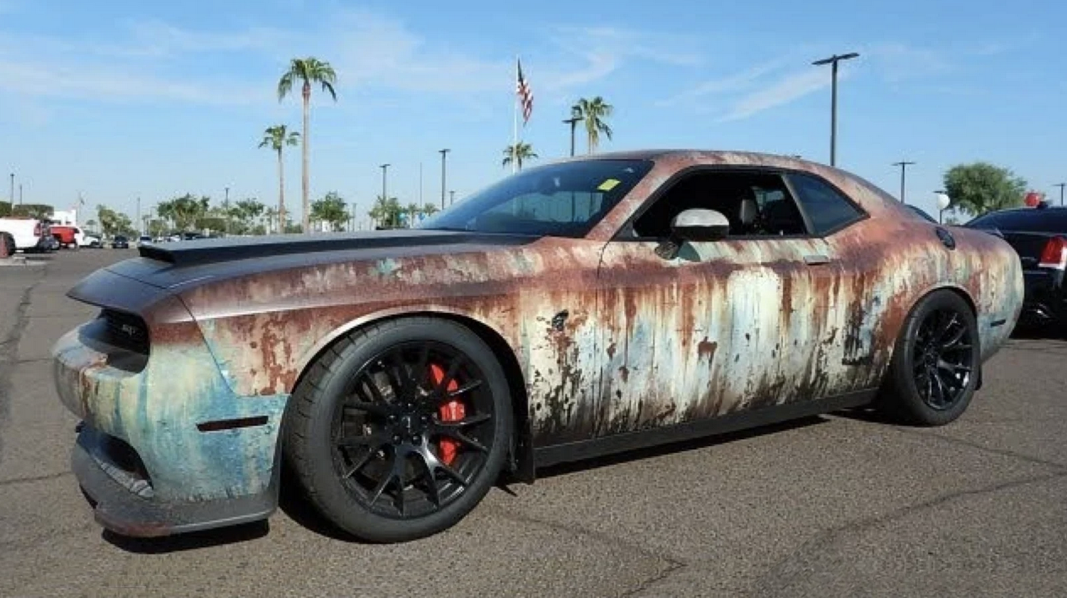 Automotive Rewind: The Wildest Rust-Wrapped Cars