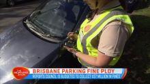 Brisbane parking fine ploy