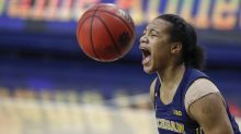 Michigan's Naz Hillmon — given 'young queen' status by LeBron James — deserves your attention