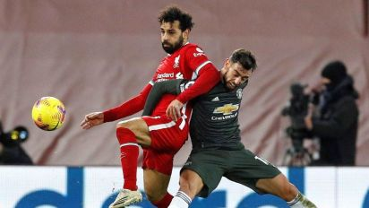 United stays atop table after Liverpool draw