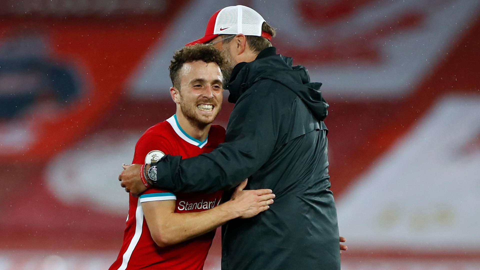 he s been on my list for two or three years klopp hails jota after first liverpool goal klopp hails jota after first liverpool goal