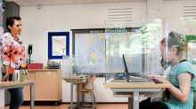 Schools buy miles of plexiglass ahead of potential reopenings amid coronavirus pandemic
