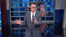 Colbert Mocks Democratic Candidates Over'Desperate' Pleas For Attention