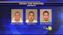 3 men arrested for deadly shooting outside Central Fresno bar