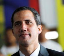 Guaido says he's trying to freeze Venezuelan accounts in Switzerland
