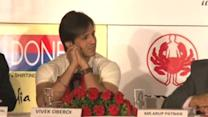Spotted! Vivek Oberoi supports World NO Tabacco Day