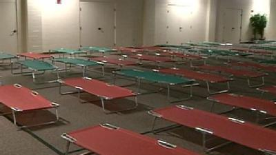 Red Cross Opens Emergency Shelter