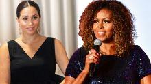 Michelle Obama praises 'thoughtful leader' Meghan Markle