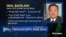Broadcom agrees to buy CA Technologies for $18.9 billion ...