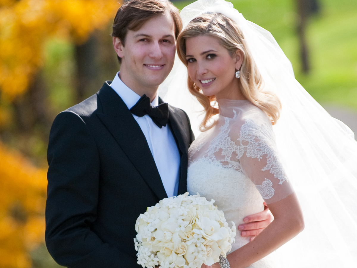 Image result for Ivanka Trump and Jared Kushner  wedding