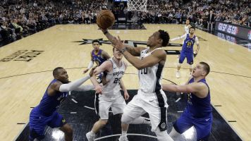 Spurs run away from Nuggets to force Game 7