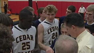 Cedar Cliff Holds Off Trinity 52-46