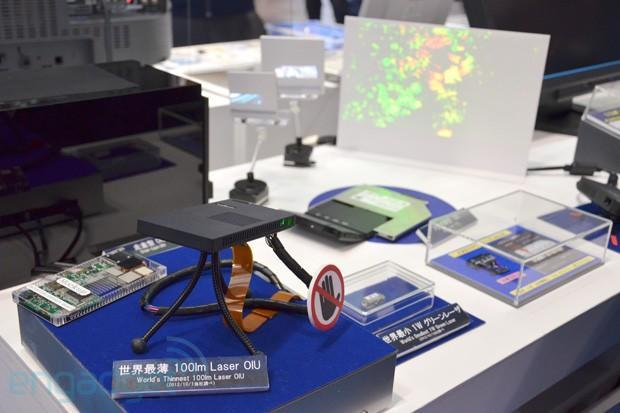 Panasonic's 7.5mm-thick, 100-lumen laser projector module claims world's thinnest title