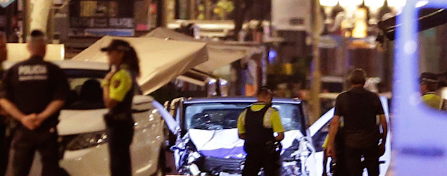 ISIS claims responsibility for the deadly van attack in Barcelona. (AP)