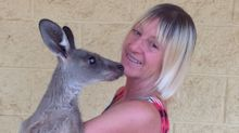 Savage kangaroo attack on family leaves mother with collapsed lung