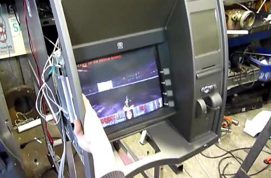 Sure enough, you can play 'Doom' on an ATM